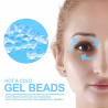 Gel eye mask - for hot & cold therapy - soothing relaxing sleeping mask