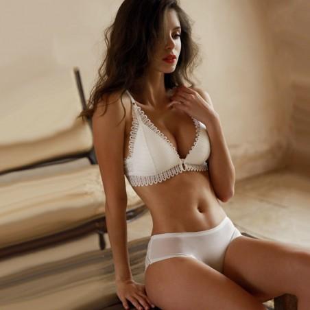 Sexy lace bra & panties - seamless underwear - set