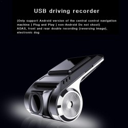 Car USB driving recorder - DVR camera dashcam - full HD 1080P - video recorder - G-sensor - night vision