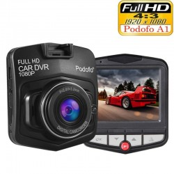 Podofo A1 mini DVR camera dashcam - full HD 1080P - video opname recorder - G-sensor - nachtzicht