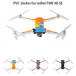 Waterproof PVC sticker for Drone Xiaomi Fimi X8 SE