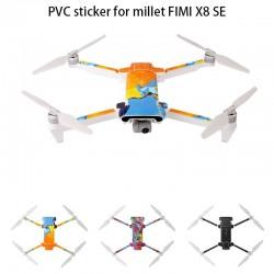 Waterproof PVC sticker for Drone Xiaomi Fimi X8 SE