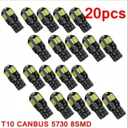 T10 12V Canbus LED car interior bulb - 20 pieces