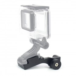 Motorcycle aluminum holder - mount bracket for GoPro Hero 4 5 3 2 Xiaomi Yi SJ4000 SJ5000