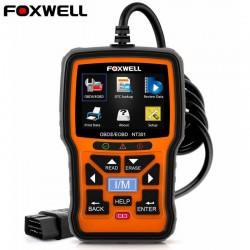 Foxwell NT301 OBD OBD2 scanner - error code reader - car diagnose - multi-languages - universal