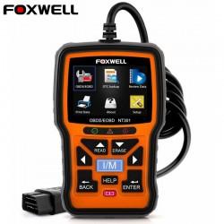 Foxwell NT301 OBD OBD2 Scanner - Fehlercodeleser - Autodiagnose - Mehrsprachig - Universal