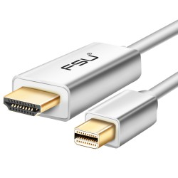 Mini DisplayPort DP to HDMI adapter - cable for Apple Macbook Pro Air - 1.8m 3m