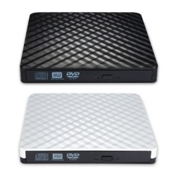 External USB 3.0 - high speed - slim DVD burner - optical drive