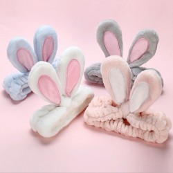 Soft headband with rabbit ears