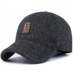 Winter baseball cap met oorkleppen