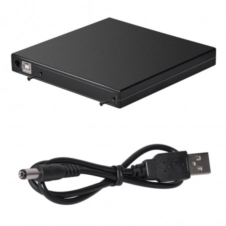 12.7mm USB 2.0 - DVD/CD-ROM case - optical disk drive SATA to SATA - external enclosure