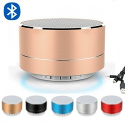 Bluetooth kabelloser Mini-Lautsprecher mit LED - Super Bass