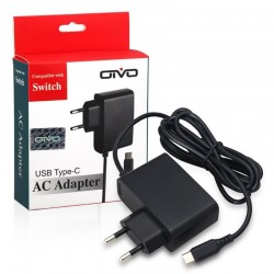 ABS 2.4A AC adapter charger for Nintendo Switch NS - EU plug