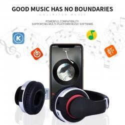 MH7 draadloze hoofdtelefoon - Bluetooth-headset - opvouwbaar - microfoon - TF-kaart