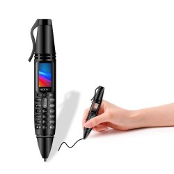 "SERVO K07 Pen - 0.96"" mini cellphone - Bluetooth - GSM - dual SIM - camera - recording - flashlight - pen"