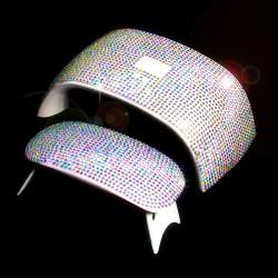3D glänzender Aufkleber für 6W / 24W UV Nageltrocknerlampe - selbstklebend