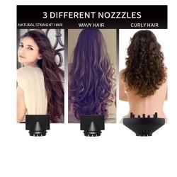 3 in 1 hair dryer - curler - straightener - volumizing - ion air blower