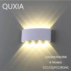 Modern aluminum wall lamp LED - 2W - 4W - 6W - 8W