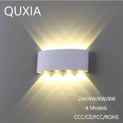 Moderne Aluminium Wandleuchte LED - 2W - 4W - 6W - 8W
