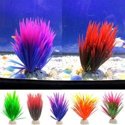 Kunstmatige groene plant - aquarium decoratief gras
