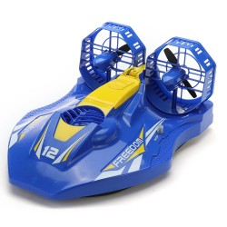 TKKJ A1 2.4G 4CH - twin-propeller hovercraft - RC boat - double motors - RTR model